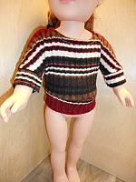 18Sweater--Brown Dolman