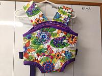 Carrier--Calypso Frogs w Purple straps