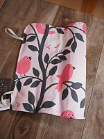 Chalk--Pink Birds