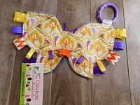 Crinkle--Butterfly Mustard Floral
