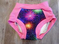 TRNR4--Fireworks Dk Pink sz 4