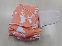 OSFitted--Peach Bucks