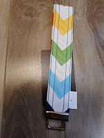 Fob--Multi-coloured Chevrons