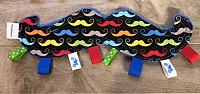 Crinkle--Colourful Mustache