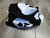 Infinity--Skulls on Black