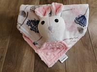 Mouse Lovie with Pink Lace Floral