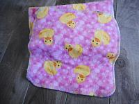 DLXWipes--Rubber Duckies on Pink