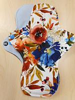 MLF11H--Blue Rust Floral--BS