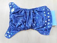 AIO--Denim Pockets w Pool microfleece