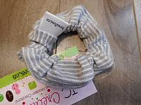 SmScrunch--Grey Stripes