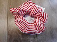 LgScrunch--Red Stripes