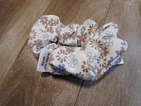 LgScrunch--Tan Floral