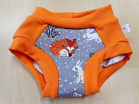 TRNR2--Fox & Rabbit with Orange accents