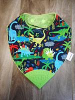BTeether--Land Before Time on Jade minky with Green corner