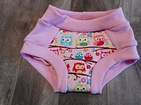 TRNR--Pink Owls sz 2
