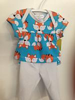 LVB--Foxes top & leggings set *
